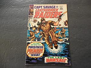 Capt Savage #1 Jan 1968 Marvel Comics Silver Age