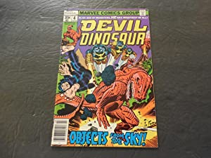 Devil Dinosaur #4 Jul 1978 Jack Kirby Bronze Age Marvel Comics
