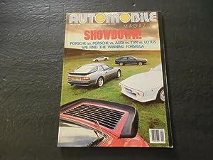 Automobile Magazine Feb 1987 Porsche; Audi; Lotus;
