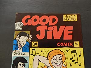Good Jive Comix #1 1973 Bronze Age Grass Green Adult Comic Book