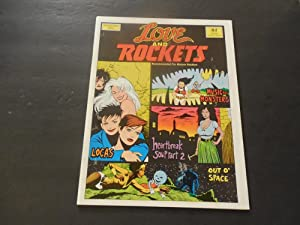 Love And Rockets #4 Oct 1983 1st Print Bronze Age Fantagraphics Books