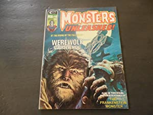 Monsters Unleashed! #4 Feb 1974 Bronze Age BW Marvel Mag