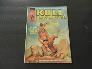 Kull And The Barbarians #2 1975 Bronze Age Marvel Comics Magazine