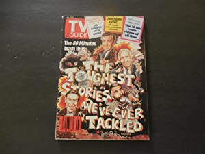 TV Guide Jan 19-25 1991 60 Minutes;