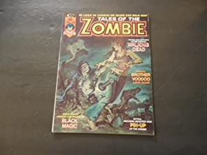 Tales Of The Zombie #5 May 1974 Bronze Age BW Marvel Magazine
