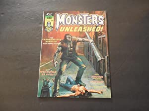 Monsters Unleashed! #6 Jun 1974 Bronze Age Black/White Marvel Magazine