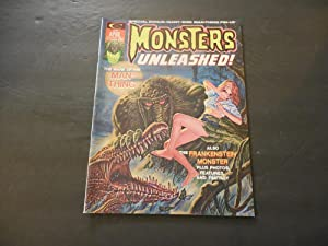 Monsters Unleashed! #5 Apr 1974 Bronze Age Black/White Marvel Magazine