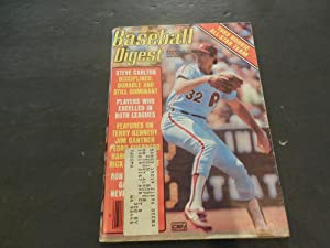 Baseball Digest Nov 1983 Terry Kenedy, Jim