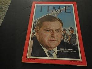 Time Dec 19 1960 West Germany's Franz