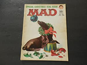 MAD #84 Jan 1964 Christmas Seal Issue Silver Age Silliness EC Comics