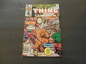 6 Iss Marvel Two-In-One #86-87, 91-94 Bronze Age Marvel Comics Thing