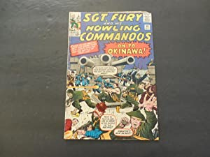 Sgt Fury #10 Sep 1964 Silver Age Marvel Comics