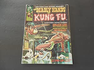 Deadly Hands Of Kung Fu #1 Apr 1974 Marvel Comics Bronze Age BW Mag