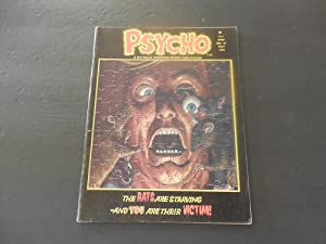 Psycho #18 May 1974 Bronze Age Horror Mag Skywald Publications