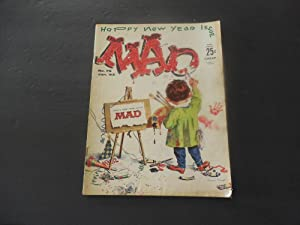 MAD #76 Jan 1963 Happy New Year Silver Age Silliness EC Comics