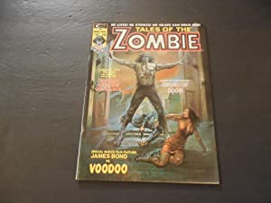 Tales Of The Zombie V2 #1 Mar 1974 Bronze Age BW Marvel Magazine