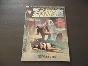 Tales Of The Zombie #3 Oct 1973 Bronze Age BW Marvel Magazine