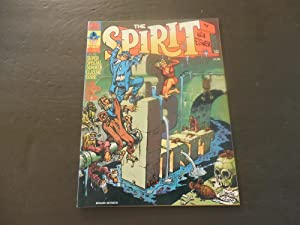 The Spirit #4 Oct 1974 Bronze Age Kitchen Sink Mag Will Eisner