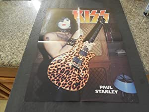 Vintage Kiss Paul Stanley Double Sided Poster