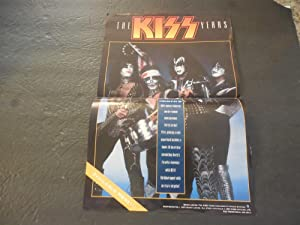 Vintage Kiss Store Promo Poster For The: Barry Levin