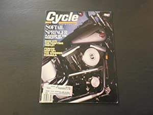 Cycle Oct 1989 Springer Softtail; BMW K75;