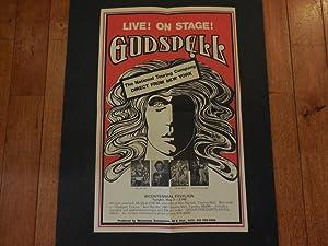 Original 1977 Godspell Poster From Bus/Truck Non: Godspell