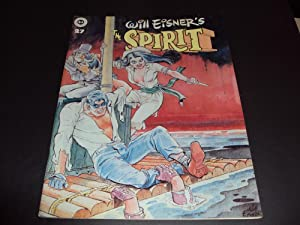 The Spirit #27 Feb 1981 Bronze Age Kitchen Sink Mag Will Eisner