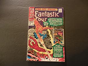 Fantastic Four King Size Special #4 Nov 1966 Silver Age Marvel Comics