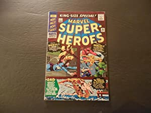 Marvel Super Heroes King Size Special #1 1966 Silver Age Marvel Comics