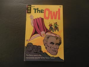 The Owl #2 1968 Silver Age Gold Key Comics