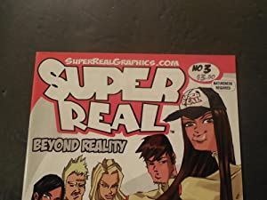 Super Real #3 1st Print Aug 2006 Modern Age Super Real Graphics