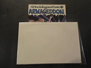 Armageddon #1 Barney Steel And Last Gasp Comics No Date
