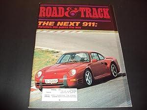 Road and Track Mar 1985 Next Porsche