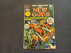 New Gods #4 Sep 1971 Bronze Age DC Comics Jack Kirby