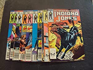 23 Iss Further Adventures Of Indiana Jones #1-23 Bronze Age Marvel Comics