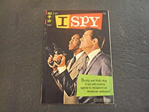 I Spy #1 1966 Silver Age Gold Key Comics Bill (Have A Quaalude?) Cosby