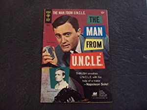 Man From UNCLE #4 Jan '66 Silver Age Gold Key Comics