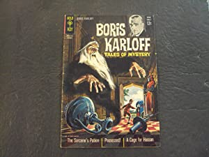 Boris Karloff Tales Of Mystery #5 Oct '63 Silver Age Gold Key Comics
