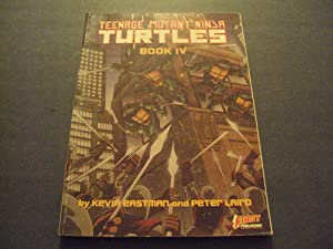 Teenage Mutant Ninja Turtles Book lV Graphic Novel First Pub 1989
