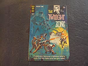 Twilight Zone #28 Mar '69 Silver Age Gold Key Comics