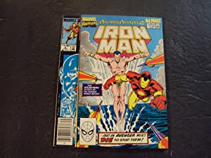 2 Iss Iron Man Annuals #6,10 Bronze/Copper Age Marvel Comics
