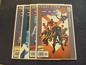 4 Iss Ultimate X-Men #7-10 Modern Age Marvel Comics