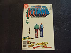 2 Iss The New Teen Titans #39-40 Feb-Mar '84 Copper Age DC Comics
