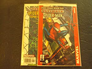 2 Iss Ultimate Spider-Man Super Special #1,Free Comic Modern Age Marvel Comics