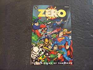 Zero The Beginning Of Tomorrow 1994 Free Giveaway DC Comics