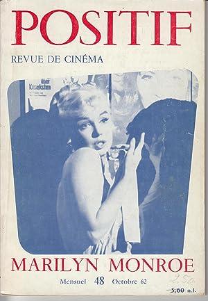 Cover Photo on Positif. Revue De Cinema: Monroe, Marilyn)