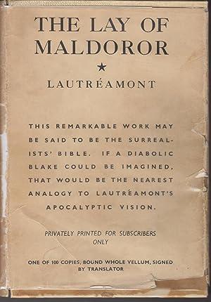 The Lay of Maldoror: Lautreamont, Comte De;