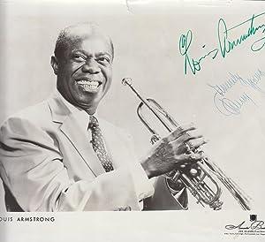Photograph Musician Louis Armstrong  8x10  Year 1953