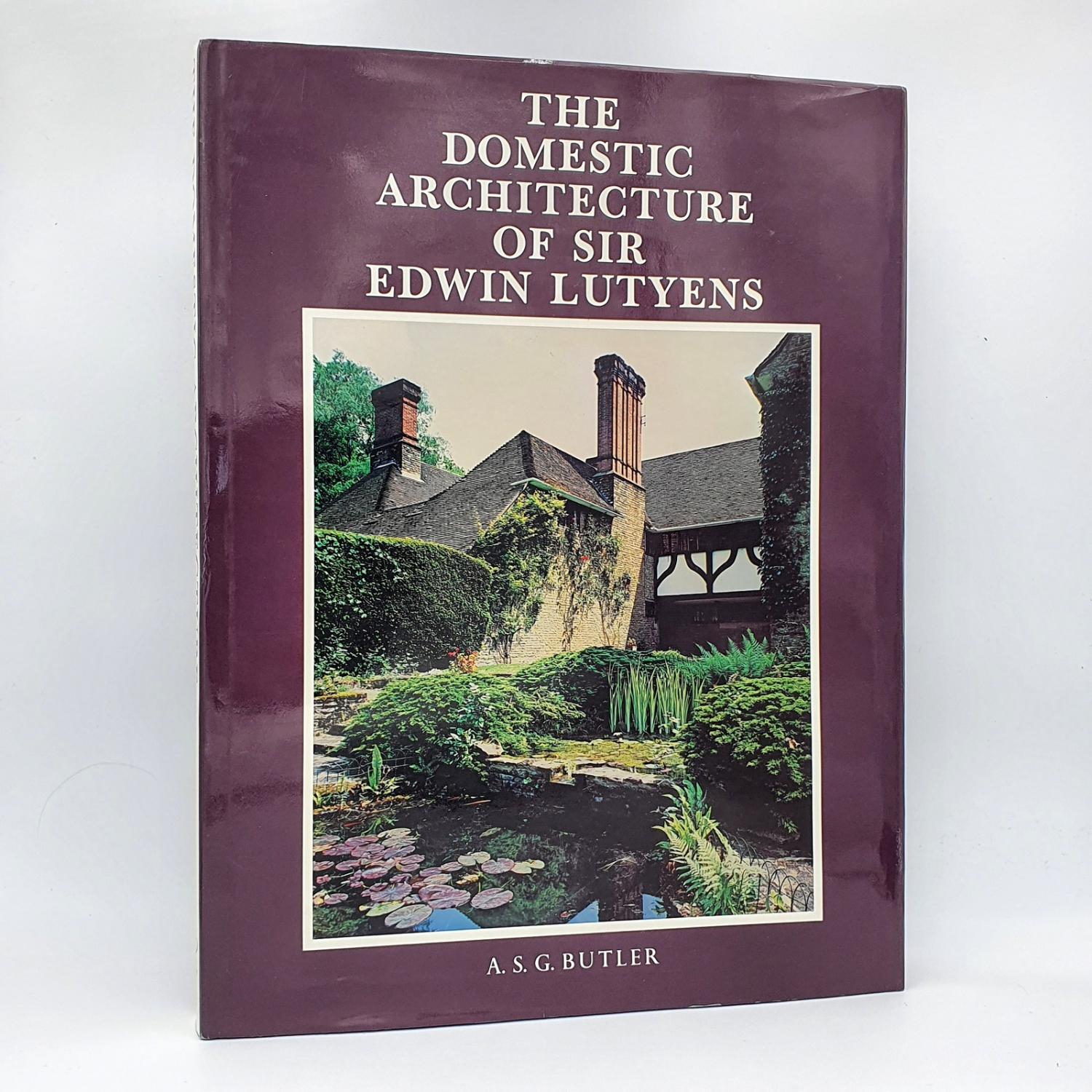 The Domestic Architecture of Sir Edwin Lutyens. - A. S. G. Butler. With the collaboration of George Stewart & Christopher Hussey.