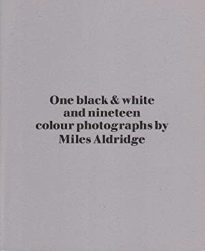 One black & white and nineteen colour photographs by Miles Aldridge [Signed].